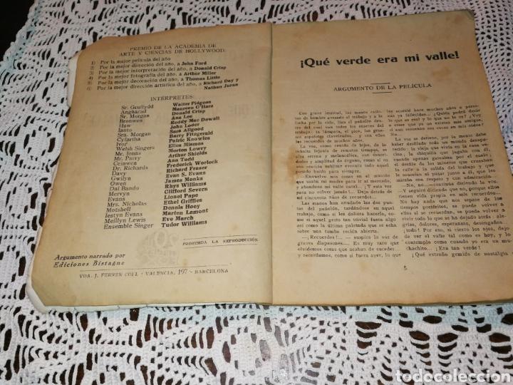 Libros antiguos: QUE VERDE ERA MI VALLE. JOYA DE COLECCIONISTAS. - Foto 4 - 121924858