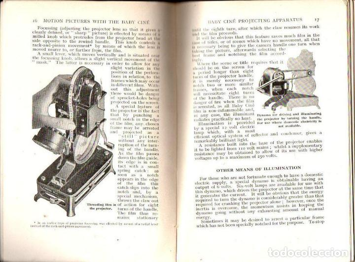Libros antiguos: ABBOTT : MOTION PICTURES WIYH THE BABY CINE (AMATEUR PHOTOGRAPHER, S. F.) - Foto 2 - 122945759