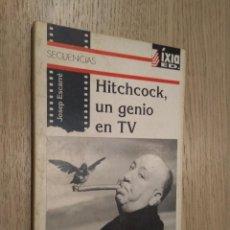 Libros antiguos: HITCHCOCK, UN GENIO EN TV. ESCARRÉ, JOSEP. 1992. Lote 129160467