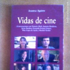 Libros antiguos: LIBRO DE ARANTXA AGUIRRE VIDAS DE CINE 154 PAGINAS ILUSTRADO. Lote 131188360