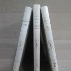 Libros antiguos: 3 TOMOS CINE MODERNO Y ESPAÑOL LA GRAN HISTORIA DEL CINE DE TERENCI MOIX DE ABC. Lote 132246274