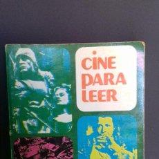 Libros antiguos: CINE PARA LEER 1975 HISTORIA CRITICA DE UN AÑO DE CINE. Lote 135761610