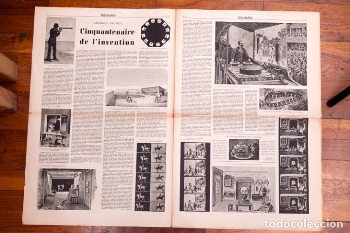 Libros antiguos: Labyrinthe - Journal mensuel des Lettres et des Arts N° 12 - Promesses du cinéma français - Foto 4 - 136867854