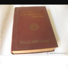 Libros antiguos: ANUARIO CINEMATOGRÁFICO ESPAÑOL 1935. Lote 137398910