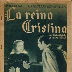 Libros antiguos: LA REINA CRISTINA. PRODUCCIÓN DE METRO GOLDWYN MAYER. COLECCIONABLE DE CINEGRAMAS.AÑO ¿? (10.7). Lote 137955562