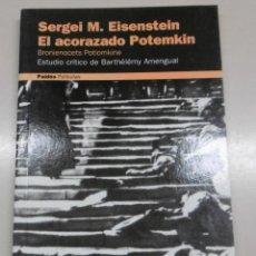 Libros antiguos: EISENSTEIN, SERGEI M: EL ACORAZADO POTEMKIN. Lote 139005986