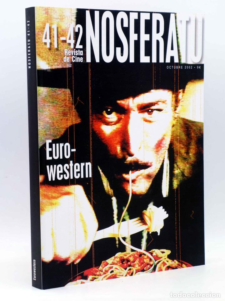 NOSFERATU REVISTA DE CINE 41 42. NÚMERO DOBLE. EURO WESTERN (VVAA), 2002. OFRT (Alte, seltene und kuriose Bücher - Schönen Künste, Freizeit und Sammeln - Kino)