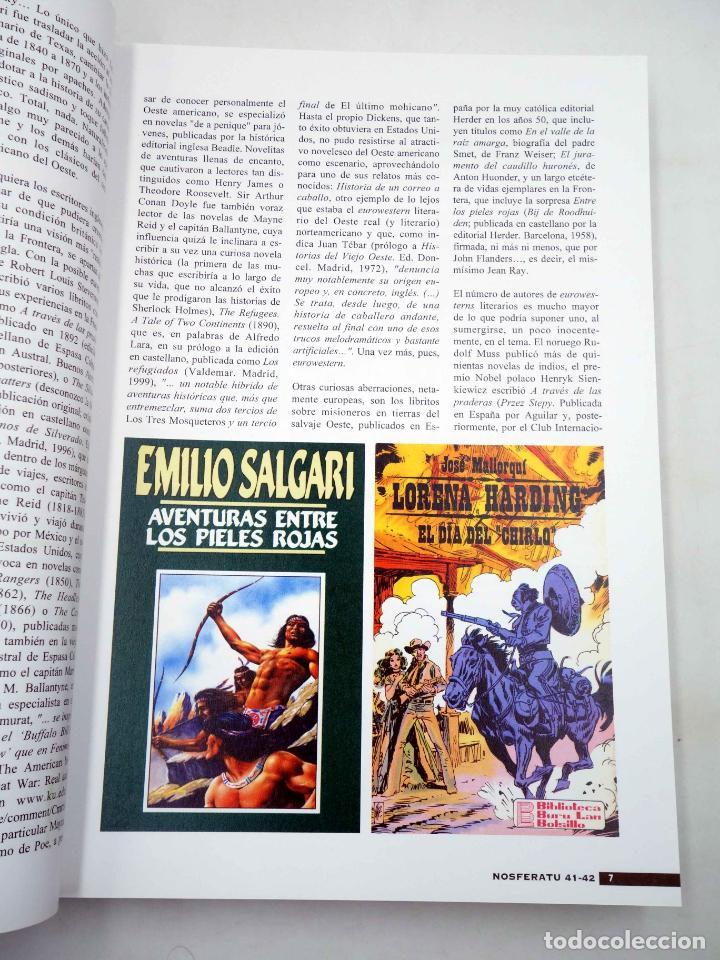 Alte Bücher: NOSFERATU REVISTA DE CINE 41 42. NÚMERO DOBLE. EURO WESTERN (VVAA), 2002. OFRT - Foto 4 - 147579780