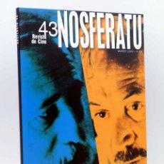 Livros antigos: NOSFERATU REVISTA DE CINE 43. ADOLFO ARISTARAIN - FEDERICO LUPPI (VVAA) 2003. OFRT. Lote 214636910