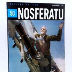 Libros antiguos: NOSFERATU REVISTA DE CINE 50. DON QUIJOTE EN EL CINE (VVAA), 2005. OFRT. Lote 141298046