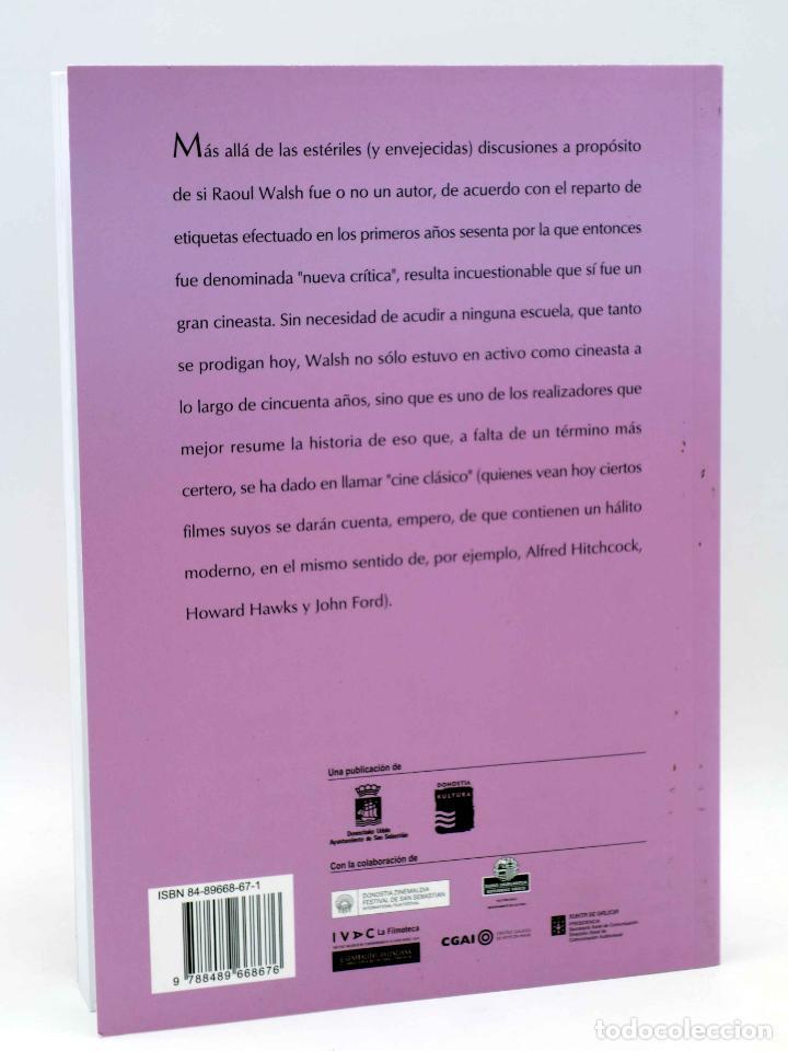 Libros antiguos: COLECCIÓN NOSFERATU 1. RAOUL WALSH (José María Latorre) Nosferatu, 2008. OFRT antes 18E - Foto 2 - 147579932