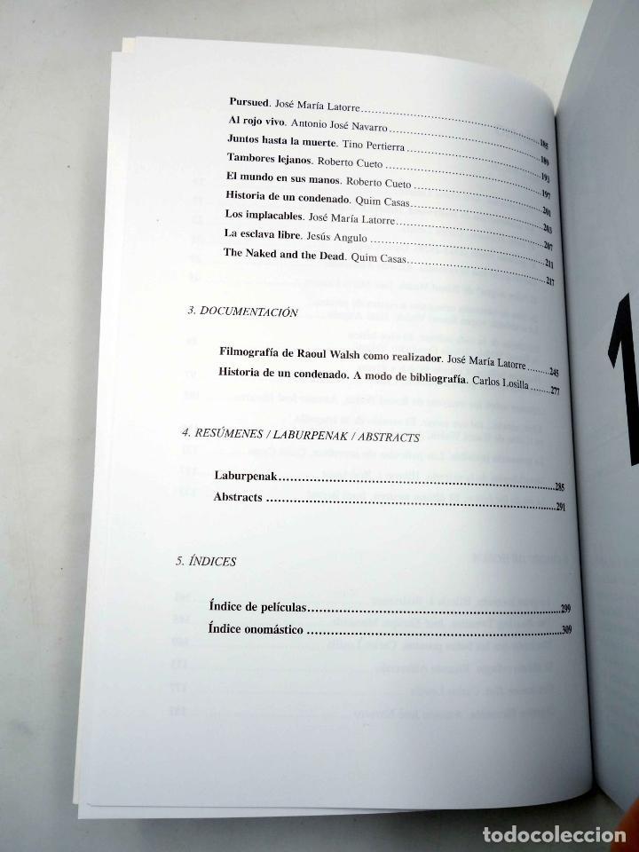 Libros antiguos: COLECCIÓN NOSFERATU 1. RAOUL WALSH (José María Latorre) Nosferatu, 2008. OFRT antes 18E - Foto 5 - 147579932