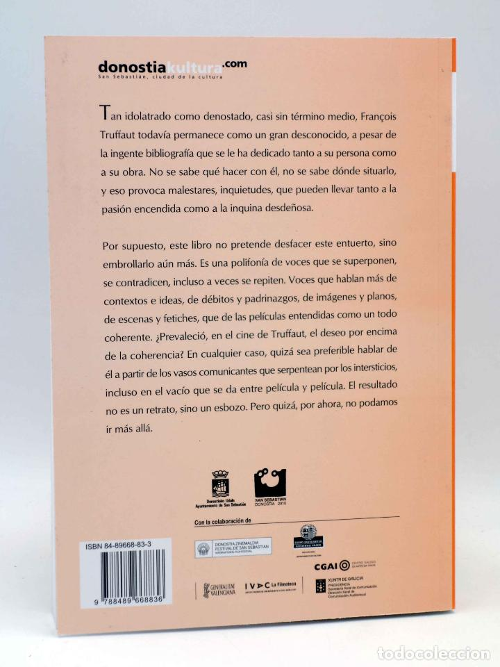 Libros antiguos: COLECCIÓN NOSFERATU 6. FRANÇOIS TRUFFAUT. EL DESEO DEL CINE (Carlos Losilla) Nosferatu, 2010. OFRT - Foto 2 - 147628001