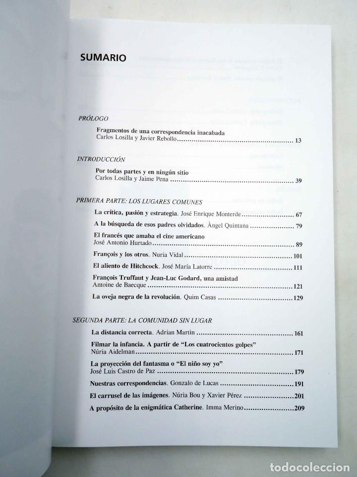 Libros antiguos: COLECCIÓN NOSFERATU 6. FRANÇOIS TRUFFAUT. EL DESEO DEL CINE (Carlos Losilla) Nosferatu, 2010. OFRT - Foto 4 - 147628001