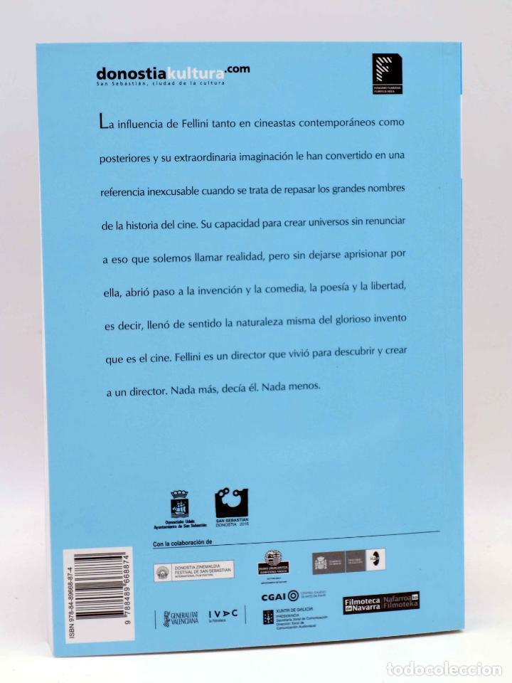 Libros antiguos: COLECCIÓN NOSFERATU 7. FEDERICO FELLINI (José María Latorre) Nosferatu, 2011. OFRT antes 18E - Foto 2 - 147579788