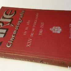 Libros antiguos: 1900-1935 ARTE Y CINEMATOGRAFÍA EN EL AÑO XXV DE SU PUBLICACIÓN. Lote 142874822