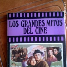 Libros antiguos: LIBRO LOS GRANDES MITOS DEL CINE EDICIONES URBION 1981. Lote 143057774