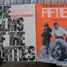 Libros antiguos: THE FILMS OF THE FORTIES AND FIFTIES ( PELIS AÑOS 40 Y 50). Lote 143081054