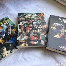 Libros antiguos: EL CINE DEL 95, 96, 97. CANAL +. Lote 144295678