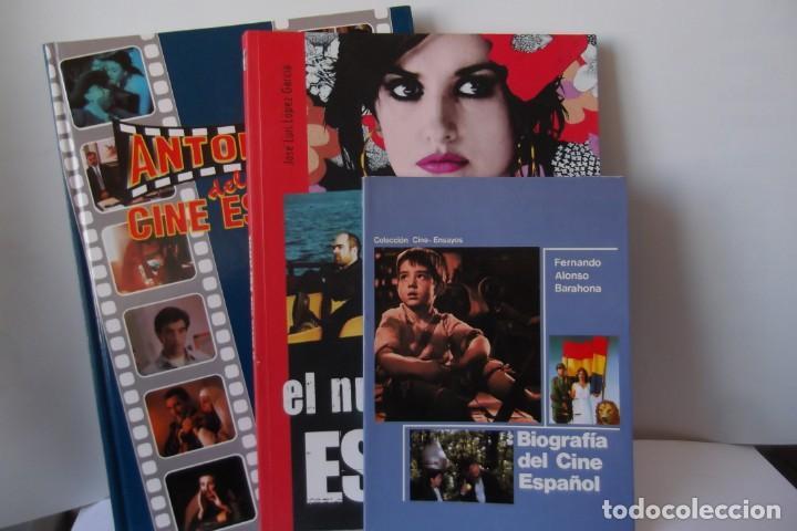 LIBROS DE OCASION-LOTE CINE ESPAÑOL-3 ITEMS (Libros Antiguos, Raros y Curiosos - Bellas artes, ocio y coleccion - Cine)