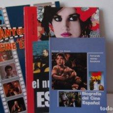 Libros antiguos: LIBROS DE OCASION-LOTE CINE ESPAÑOL-3 ITEMS. Lote 144700350