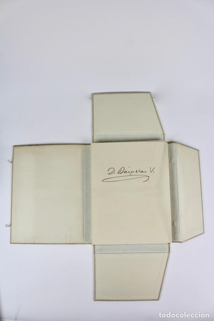 Libros antiguos: L- 2892. BARCELONA VISTA PER DIONIS BAIXERAS. 50 DIBUIXOS PRECEDITS D'UN ESTUDI AGUSTI DURAN.1947. - Foto 2 - 148456246