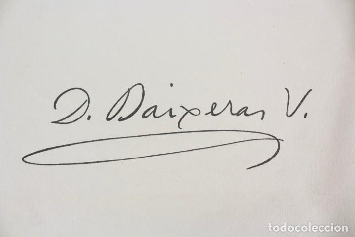 Libros antiguos: L- 2892. BARCELONA VISTA PER DIONIS BAIXERAS. 50 DIBUIXOS PRECEDITS D'UN ESTUDI AGUSTI DURAN.1947. - Foto 3 - 148456246