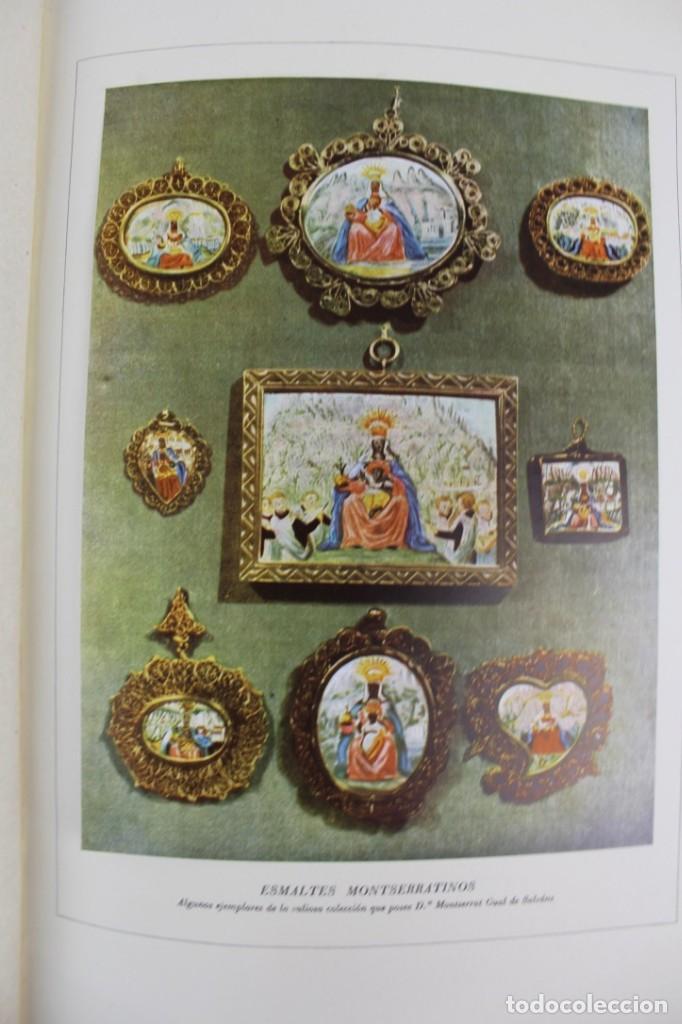 Libros antiguos: L-2655. MONTSERRAT, MONTAÑA SANTA. EJEMPLAR NUMERADO. ILUSTRADO CON GRABADOS. 1945. - Foto 7 - 148456558
