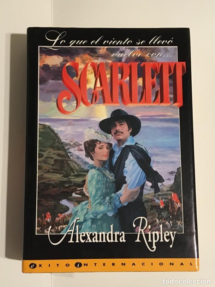 SCARLET - LO QUE EL VIENTO SE LLEVO (Libros Antiguos, Raros y Curiosos - Bellas artes, ocio y coleccion - Cine)