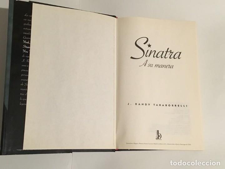 Libros antiguos: Sinatra - Foto 2 - 149747610