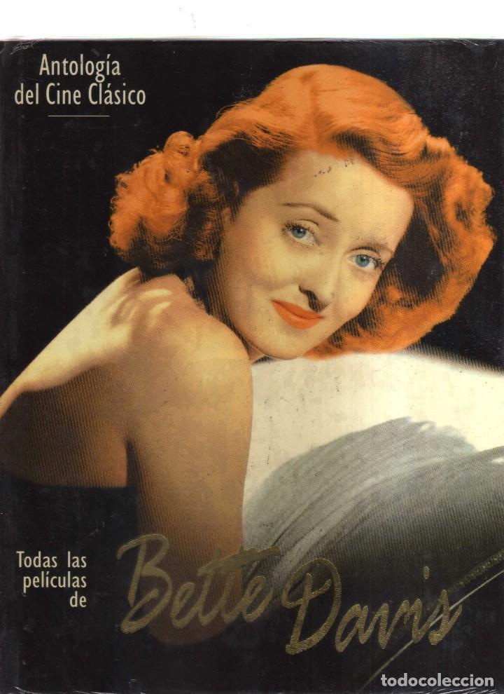 ANTOLOGIA DEL CINE CLASICO BETTE DAVIS (Libros Antiguos, Raros y Curiosos - Bellas artes, ocio y coleccion - Cine)
