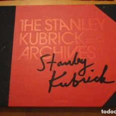 Libros antiguos: STANLEY KUBRICK ARCHIVES, ALISON CASTLE PARIS. EDITORIAL TASCHEN 2008. Lote 151201754