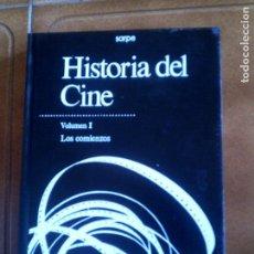 Libros antiguos: LIBRO DE SARPE HISTORIA DEL CINE VOLUMEN 1 ,LOS COMIENZOS ILUSTRADO 400. Lote 153220514