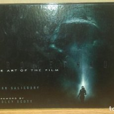 Libros antiguos: PROMETHEUS: THE ART OF THE FILM. Lote 154611990