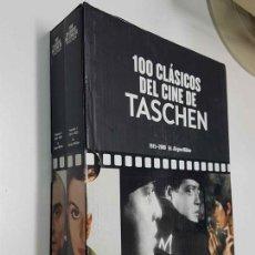 Libros antiguos: 100 CLASICOS DEL CINE ( 2 VOLUMENES )- AÑOS 1915- 2000. Lote 154612586