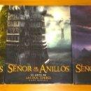 Libros antiguos: TRILOGIA EL ARTE DE EL SEÑOR DE LOS ANILLOS LA COMUNIDAD DEL ANILLO LAS DOS TORRES RETORNO DEL REY. Lote 161314929
