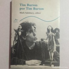 Libros antiguos: TIM BURTON POR TIM BURTON. Lote 155708618