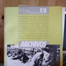 Libros antiguos: FILMOTECA GENERALITAT VALENCIANA - Nº 12. Lote 156705126