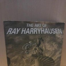 Libros antiguos: THE ART OF RAY HARRYHAUSEN. Lote 157233098