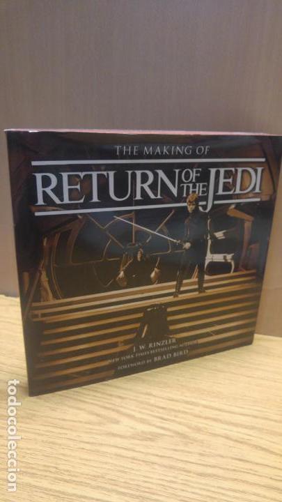 THE MAKING OF THE RETURN OF THE JEDI. STAR WARS (Libros Antiguos, Raros y Curiosos - Bellas artes, ocio y coleccion - Cine)