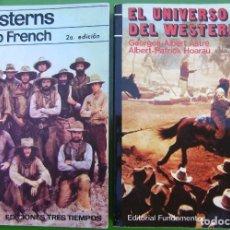 Libros antiguos: LOTE 2 LIBROS WESTERNS - EL UNIVERSO DEL WESTERN. Lote 158336662