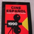 Libros antiguos: LIBRO CINE ESPAÑOL 1990 MINISTERIO DE CULTURA EXCELENTE 152 PÁGINAS. Lote 160499730