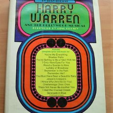 Libros antiguos: LIBRO HARRY WARREN AND THE HOLLYWOOD MUSICAL DE TONY THOMAS USA 1ª EDICIÓN 1975. Lote 160592650