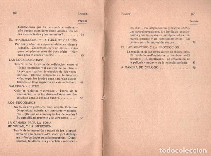 Libros antiguos: SABINO MICÓS : CÓMO SE HACEN LAS PELÍCULAS (IBEROAMERICANA, 1929) DEDICADO Y FIRMADO POR EL AUTOR - Foto 4 - 117383835