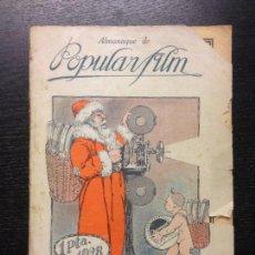 Libros antiguos: ALMANAQUE DE POPULAR FILM, PARAMOUNT, 1928. Lote 162956334