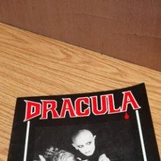 Libros antiguos: DRÁCULA. THE VAMPIRE LEGEND. Lote 163408182
