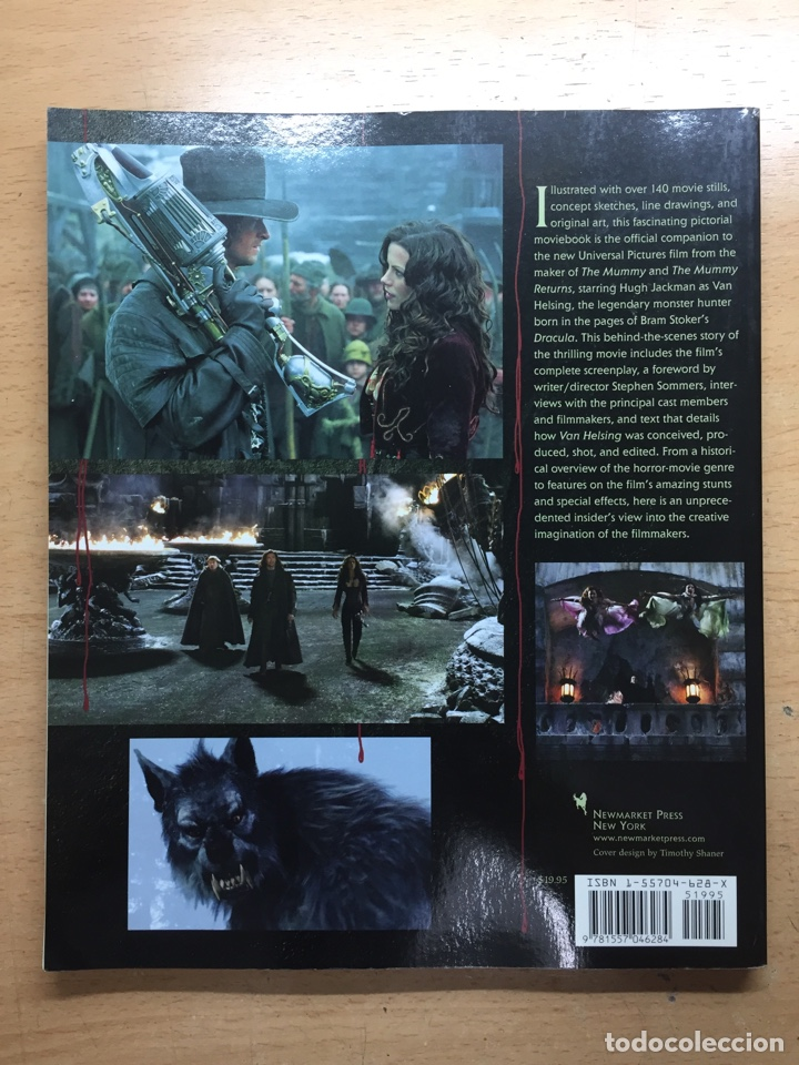 Libros antiguos: Van helsing the making of the legend RARE - Foto 2 - 165666673