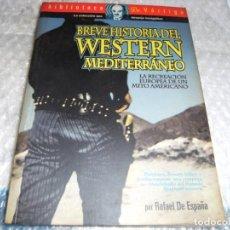 Libros antiguos: BREVE HISTORIA DEL WESTERN MEDITERRANEO - RAFAEL DE ESPAÑA. Lote 168577104