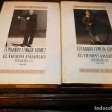 Libros antiguos: MEMORIAS COMPLETAS DE FERNANDO FERNAN GOMEZ EN 2 TOMOS . Lote 168867924