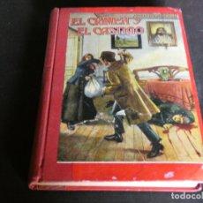 Libros antiguos: PRECIOSO LIBRO CRIMEN Y CASTIGO ED MOLINO 1935 PESA 466 GRAMOS . Lote 172169049